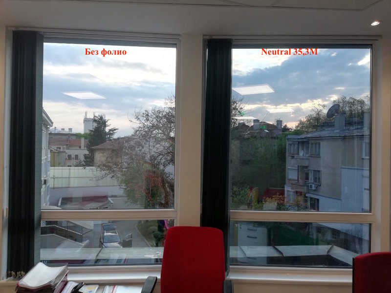 Sun Control Window Film Neutral 35 - J&JCo 1